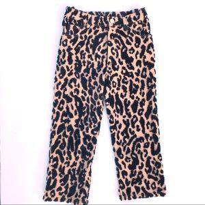 NEW Caroline Bosmans Leopard pants
